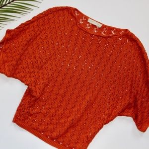 Urban Outfitters Staring at Stars Crochet Sweater